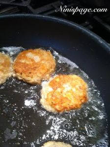 frying patties