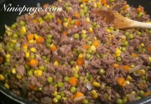Shepherds pie filling