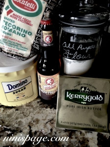 Beer bread ingredients