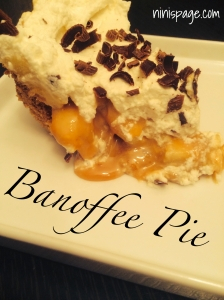 Banoffee Caramel Pie