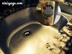 Stainless cleanser